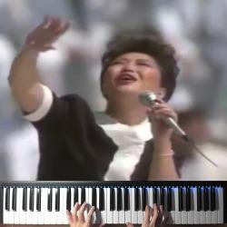 """【조용피아노】 손에 손잡고 피아노 """"Hand In Hand"""" Koreana - 1988 Seoul Olympic Official Song Piano"""
