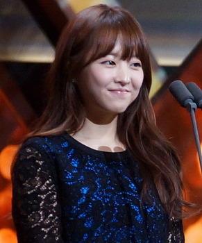 박보영 - 2012 프로야구 시상식