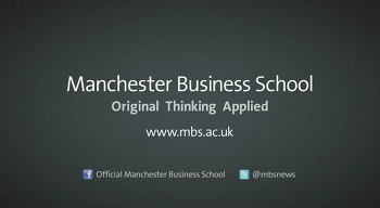 맨체스터 비즈니스 스쿨 학교 소개 영상 (Manchester Business School official promotional video)