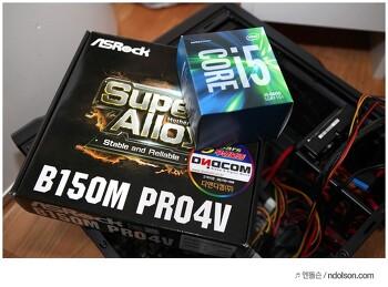 오버워치 되는 메인보드 그리고 M.2 SSD 지원되는 가성비 애즈락 B150M PRO4V