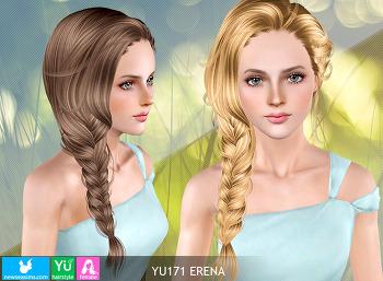 NewSea-SIMS3-hair-YU171-Erena