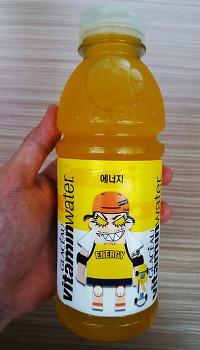 [코카콜라 비타민워터] 글라소 비타민워터 에너지 가격 및 칼로리 : 비타민워터 노란색 (트로피컬 시트러스 맛)
