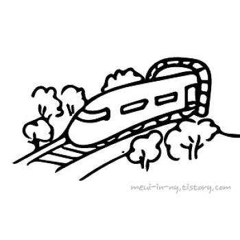 전철, 기차,  열차는 영어로
