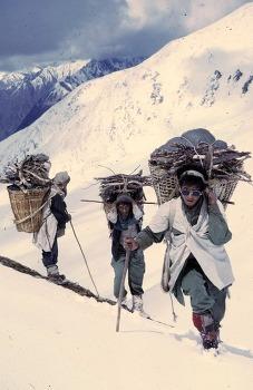 요한 라인하르트가 촬영한 티베트 문화권, 네팔 돌포의 1970년대 모습