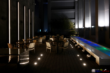 명동 이색 데이트 명소 L7 호텔 루프탑 풋스파