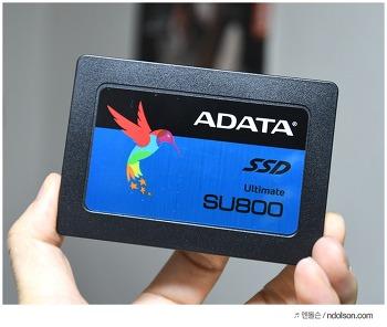 3DNAND의 TLC SSD 제품 추천 : ADATA SU800 512GB 사용기