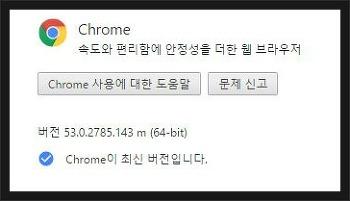 크롬 업데이트 chrome 53.2785.143