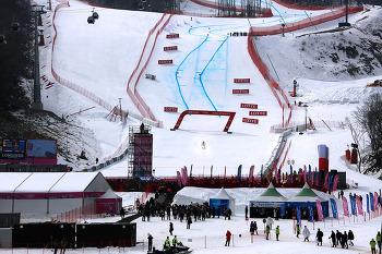 정선 알파인 스키장, 2018 평창 동계올림픽 경기장