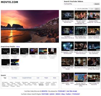 새롭게 업그레이드한 MOVYX.COM