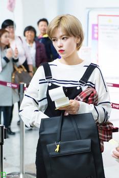 [2016.10.09] 김포공항 트와이스 정연