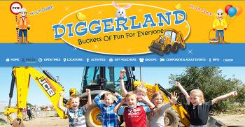 아이들을 위한 중장비 테마파크 Diggerland