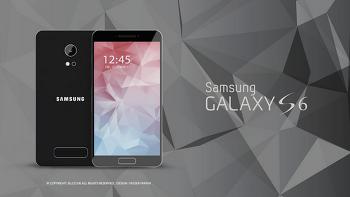 삼성의 '갤럭시S6' 콘셉트 이미지 유출돼