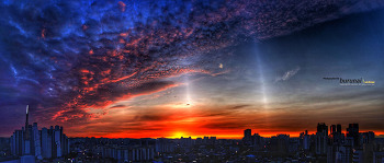 서울의 석양 Sunset