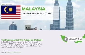 말레이시아에서 드론 날리기