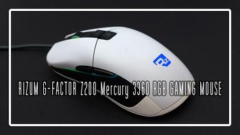 RIZUM G-FACTOR Z200 Mercury 3360 RGB 게이밍 마우스