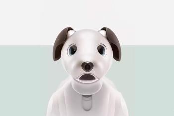 실제 강아지 같은 인공지능 애완로봇 소니 아이보(aibo)