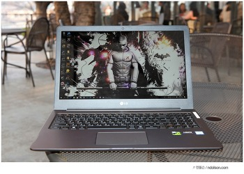 LG 울트라PC GT 최고사양 GTX1050 그래픽카드로 즐겨본 배틀그라운드 노트북