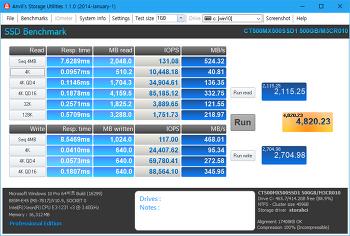 SSD HDD 벤치마크 성능 테스트 프로그램들
