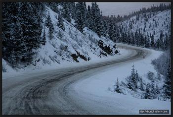 [캐나다 겨울 여행 ⑨] 캐나다 북부 로키 산맥 ; 스톤 마운틴 주립공원