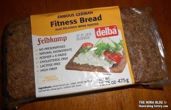 Delba Fitness Bread - 독일 건강 호밀빵