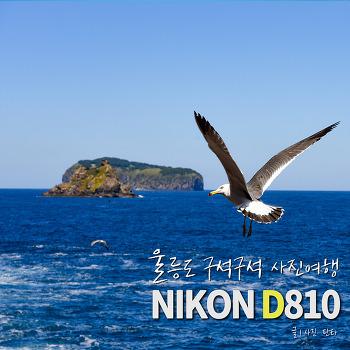 [리뷰] 울릉도 구석구석 사진 여행 with 니콘 D810 + 24-70mm
