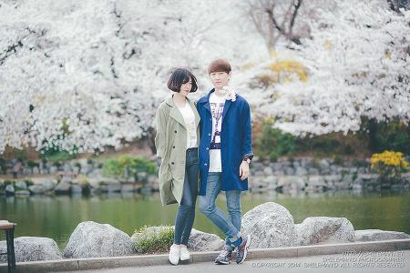 140405 인하대 벚꽃 데이트스냅