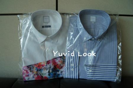 [Yuvid Look 구매보고서] 바쏘옴므 셔츠(스트라이프셔츠, 플라워 프린팅 셔츠)
