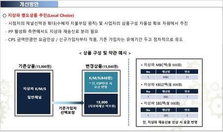 케이블·IPTV 기본채널에서 MBC 빼는 방법