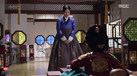 옥녀와 문정황후의 만남..동시간 1위