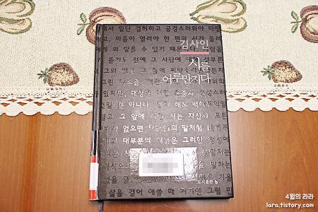 [책·문학] 시를 어루만지다 - 김사인