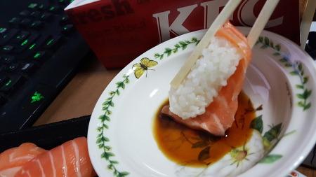 초밥 먹기