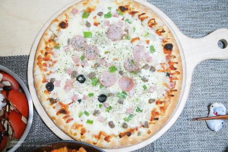오뚜기 피자 오늘은 콤비네이션 으로