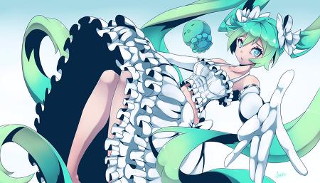 SAI, 스피드페인팅 - 하츠네미쿠 by Azure