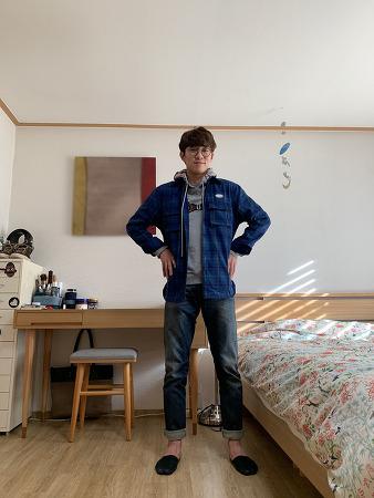 스테레오 바이닐즈 StereoVinyls Flannel Shirt + 핸드스프링