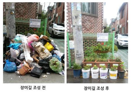 도봉구, 창3동 '골목 주민들이 만든 장미 꽃길 인기' by 동네방네뉴스