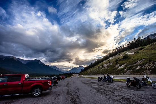 캐나다 록키의 구름 사진 한 장 - 캐나다 록키 렌트카 여행