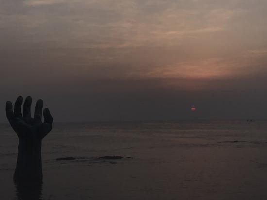 포항 호미곶 일출