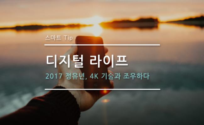 [디지털 라이프] 2017 정유년, 4K 기술과 조우..