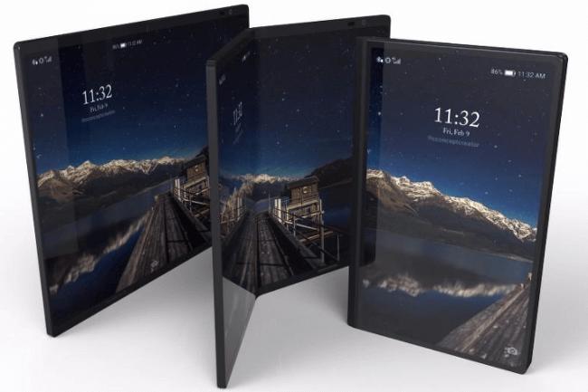 접이식 스마트폰 '갤럭시X', 2월에 공개된다.