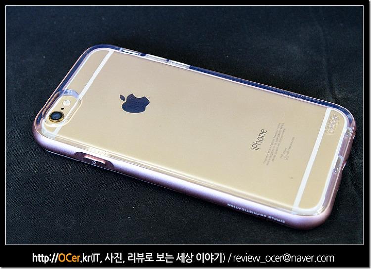 엘라고 아이폰6s 케이스 강화유리필름
