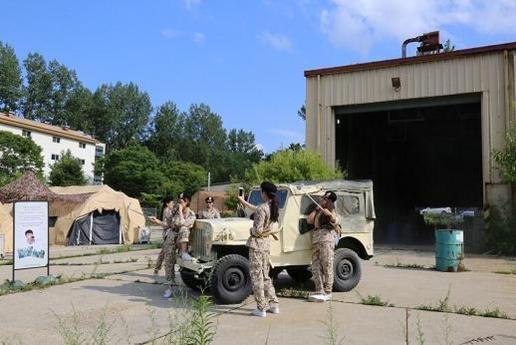경기도 파주 DMZ 안보관광지 '캠프 그리브스' 전년대비 이용객 42퍼센트 증가