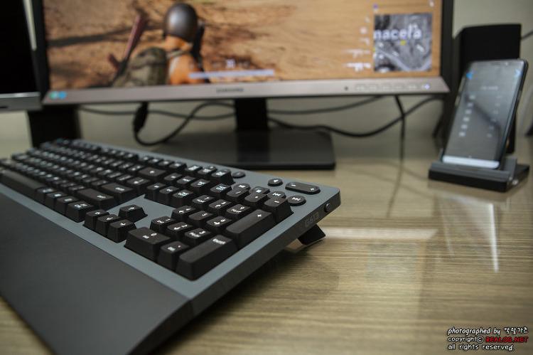 무선 기계식 키보드 로지텍 G613 사용기!