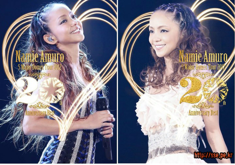 Namie Amuro 5 Major Domes Tour 2012_20th Anniversary Best