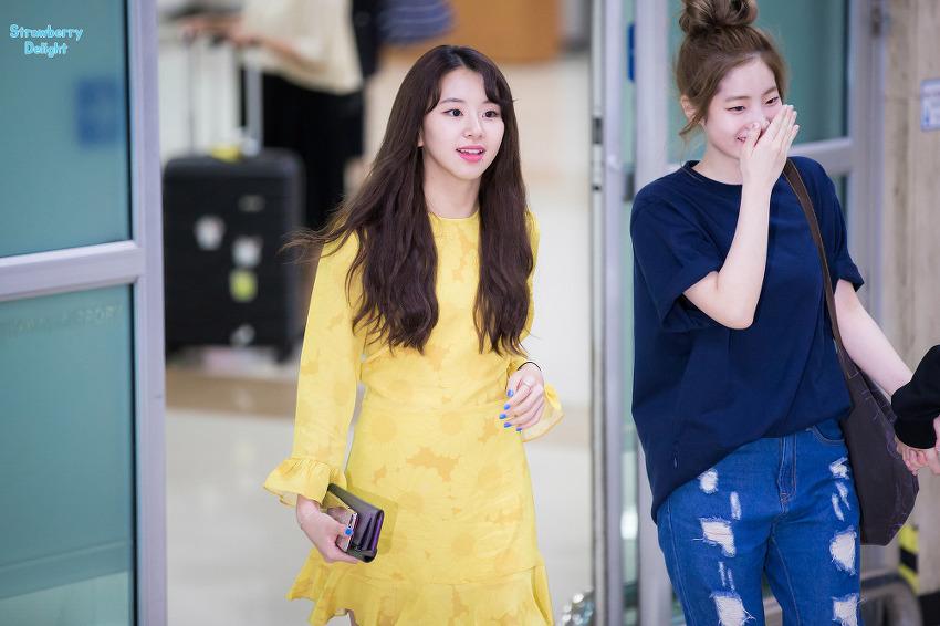 170825 김포공항입국 트와이스 채영