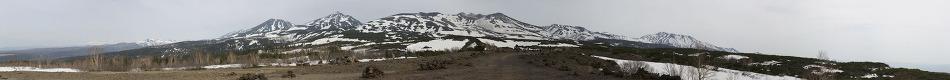 북해도 도카치 화산과 비에이 파노라마로드에서... (홋카이도)