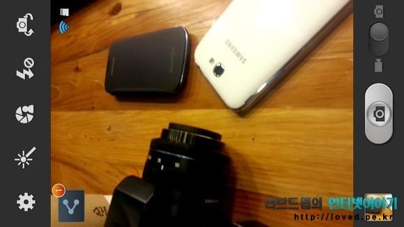 갤럭시노트2 숨겨진 기능 카메라 자동 촬영 공유 사용법