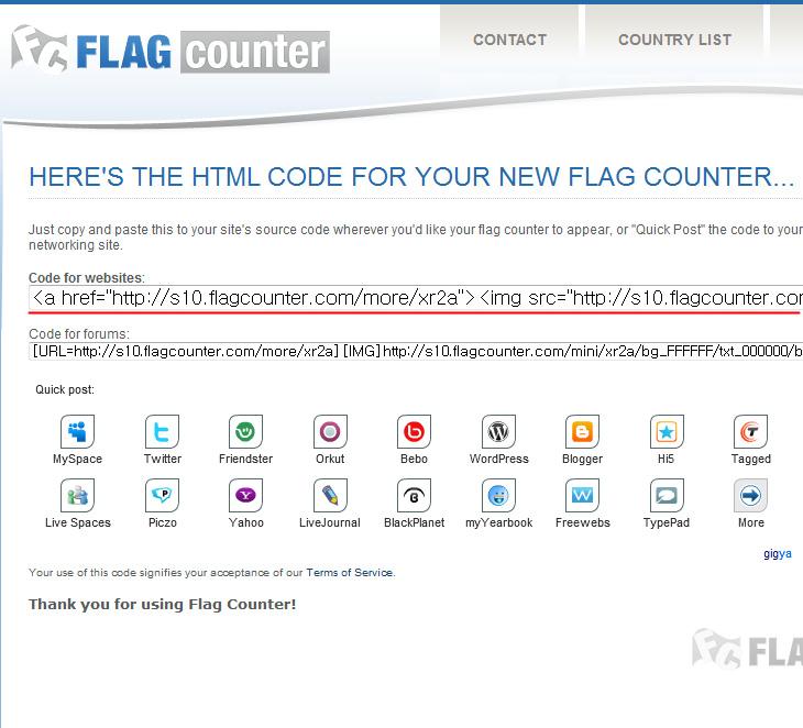 Counter, Flag Counter, FlagCounter, It, pageview, 리뷰, 블로그 페이지뷰, 블로그 페이지뷰 카운터, 사용, 설치, 카운터, 카운터 설치, 페이지뷰, 페이지뷰 설치, 페이지뷰 카운터,블로그 페이지뷰 카운터가 궁금할 때가 있습니다. 저 역시 그런데요. 티스토리는 아쉽게도 각 페이지마다의 페이지뷰는 제공하진 않습니다. 예전에 텍스트큐브에서 어떤 사용자가 페이지뷰 소스를 개인계정에 돌려서 서비스를 해주다가 서비스 비용도 그렇고 트래픽 때문에 접었던게 기억이 나는데요. 블로그 페이지뷰 카운터를 무료로 쉽게 달고 확인하는 방법이 있어서 소개 합니다.  방법은 쉽습니다. Flag Counter 사이트에 접속 후 페이지뷰 소스를 생성 후 블로그 포스트에 넣어주면 됩니다. 한가지 좀 불편한게 있다면 블로그 포스팅 마다 넣은 뒤 발행해야한다는 문제가 있겠고, 아주 시간이 많이 흐른 뒤 만약 서비스가 정지하게 되면 넣어두었던 코드가 골치덩어리가 될 수 있다는 것 정도이죠. 레이어로 코드를 넣어서 나중에 필요하지 않을 때 display 속성을 숨김으로 해도 될 듯 합니다.  제 경우에는 BBcode 가 적용되어 있기 때문에 블로그 댓글에 페이지뷰 카운터를 넣어버렸습니다. 실험적으로 넣어본것인데 잘 작동은 하네요. 물론 댓글이 펼쳐지는데 시간이 걸리기 때문에 그전데 닫아버린 페이지는 카운팅이 안되겠죠. 그리고 글을 발행하자마자 블로그 페이지뷰 카운터를 바로 넣어야한다는 점이 좀 번거롭긴 합니다.  티스토리 첫 페이지 꾸미기에 조회수가 많은 순 으로 정렬이 가능한 것으로 봐선 카운터 출력도 분명 내부적으로 계산이 된다는것인데 이것을 따로 빼주지 않는게 좀 아쉽긴 하네요.
