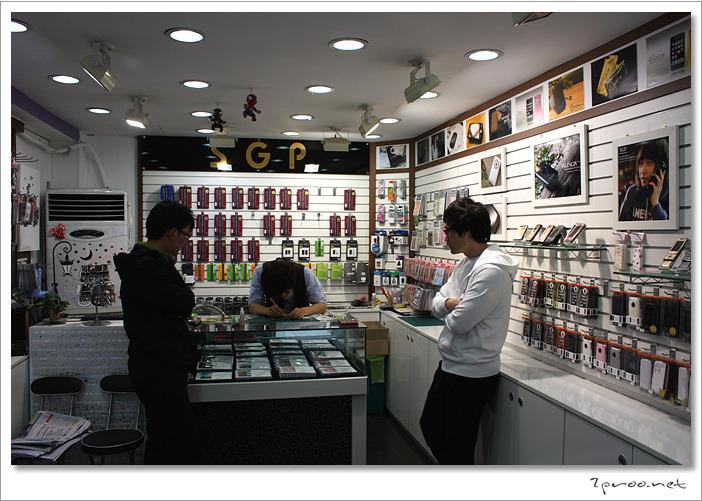 SGP 대전 대리점 내부 사진