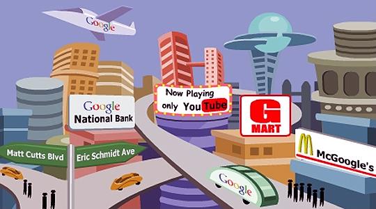 이미지 출처: http://contentranch.com/google/future-google-city/, 일부수정편집