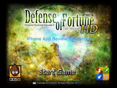 아이패드 추천 디펜스 게임 Defense of Fortune HD